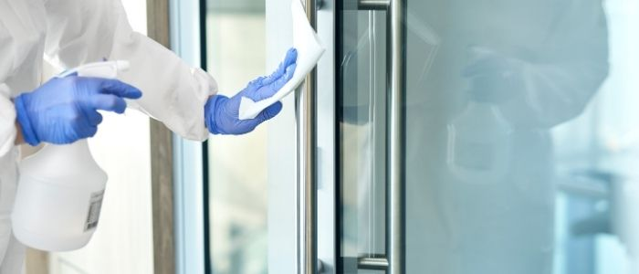 Commercial office deep cleaning service